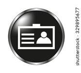 identification card icon  ...