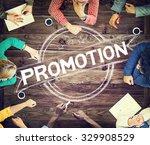 promotion marketing branding... | Shutterstock . vector #329908529