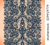 abstract seamless lace pattern... | Shutterstock .eps vector #329919779