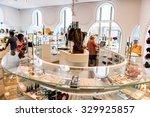 new york  usa   oct 8  2015 ... | Shutterstock . vector #329925857