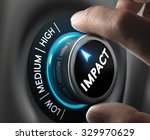 man hand turning a knob in the... | Shutterstock . vector #329970629