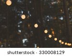 Blurred Image Of Light Bulbs...
