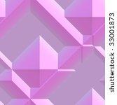 smooth angular 3d geometric... | Shutterstock . vector #33001873
