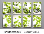 set of brochure  poster...   Shutterstock .eps vector #330049811