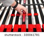 assembling bed slats for... | Shutterstock . vector #330061781