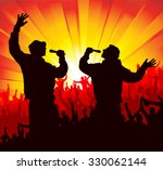 poster for concerts   Shutterstock .eps vector #330062144