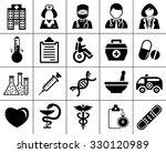 medical icons | Shutterstock .eps vector #330120989