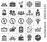 investment icons | Shutterstock .eps vector #330121121