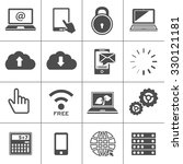 computer icons | Shutterstock .eps vector #330121181