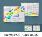 creative stylish business...   Shutterstock .eps vector #330150335