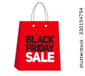black friday sale label vector... | Shutterstock .eps vector #330154754