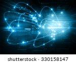 best internet concept of global ... | Shutterstock . vector #330158147