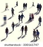 diverse diversity ethnic... | Shutterstock . vector #330161747
