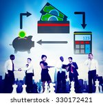 savings money financial budget... | Shutterstock . vector #330172421