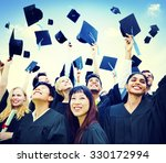 graduation students success... | Shutterstock . vector #330172994
