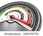 determination level conceptual... | Shutterstock . vector #330195791