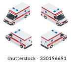 ambulance car. an emergency... | Shutterstock .eps vector #330196691