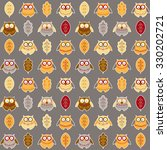 seamless pattern with different ... | Shutterstock .eps vector #330202721