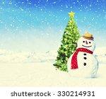 christmas holiday christmas... | Shutterstock . vector #330214931