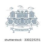 real estate market concept flat ... | Shutterstock .eps vector #330225251