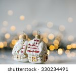 christmas lights and holiday... | Shutterstock . vector #330234491