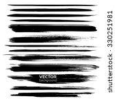 abstract  black long textured... | Shutterstock .eps vector #330251981