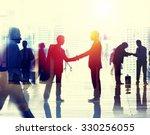 business people talking... | Shutterstock . vector #330256055