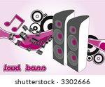 vector speaker | Shutterstock .eps vector #3302666