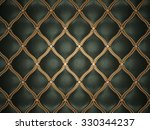 Black Leather Pattern With...