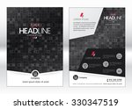 business brochure template.... | Shutterstock .eps vector #330347519