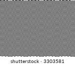 op art homage to br black and... | Shutterstock . vector #3303581