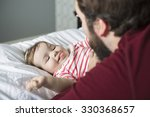 a portrait of a happy young... | Shutterstock . vector #330368657