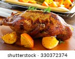 Roast Duck With Pumpkin And...