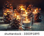 christmas christmas card with... | Shutterstock . vector #330391895