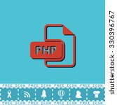 php file extension. red flat...