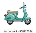 scooter icon. | Shutterstock .eps vector #330425354