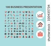 100 business presentation...