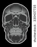 skull | Shutterstock .eps vector #330437735