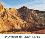 Eroded Hills Of Death Valley ...