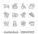 simple set of medical... | Shutterstock .eps vector #330445205