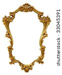 gold antique picture frame | Shutterstock . vector #33045391