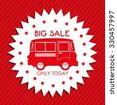cars on sale design  vector... | Shutterstock .eps vector #330457997