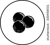 meatballs symbol   Shutterstock .eps vector #330458531