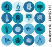 school and education icon set.... | Shutterstock . vector #330487694