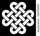 celtic knot vector illustration ... | Shutterstock .eps vector #330490991