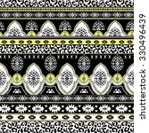 seamless ethnic pattern in... | Shutterstock .eps vector #330496439