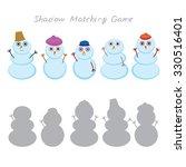 set of cute cartoon funny... | Shutterstock .eps vector #330516401