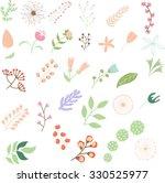 flower clip art | Shutterstock .eps vector #330525977