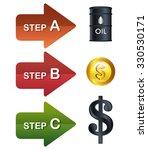 oil prices infographic design ... | Shutterstock .eps vector #330530171