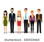 business people and... | Shutterstock .eps vector #330533465